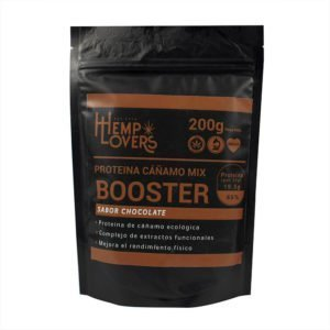 Proteína de Cáñamo Booster sabor chocolate 200g