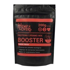 Proteína de Cáñamo Booster sabor fresa 200g