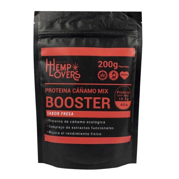 Booster de protéines de chanvre saveur fraise 200g
