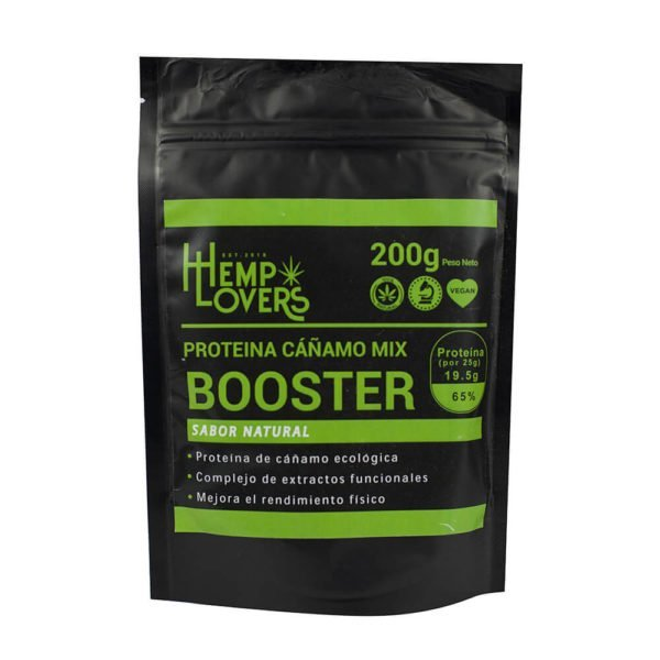 Proteína de Cáñamo Booster natural CBD 200g