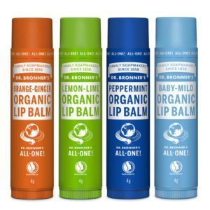 Dr bronners crema labial orgánica 4g