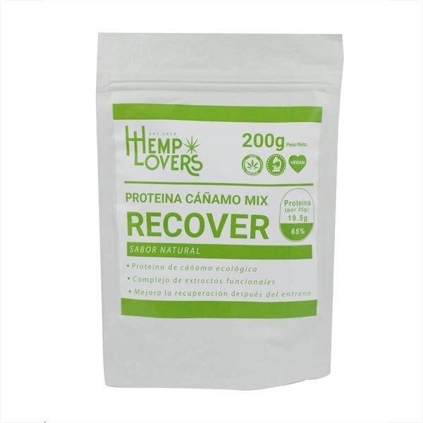Protenia de Cañamo Recover Natural CBD 200g
