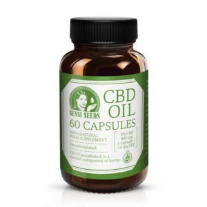 Sensi Seeds cápsulas de CDB 10 15 20 mg