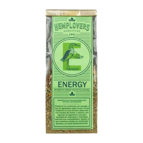 Infusión de cáñamo con CBD Energy
