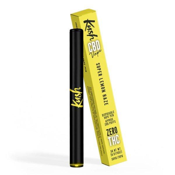 Vaporizador CBD 40% con batería desechable Lemon Haze