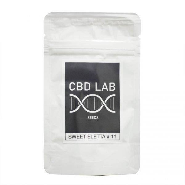 Semillas con alto contenido de CBD Sweet Eletta #11 con menos de 0.2 THC