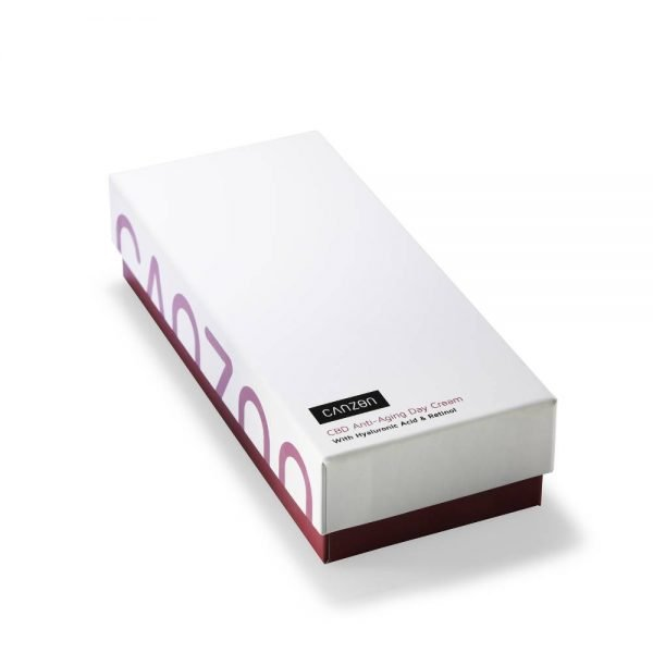 Caja embalaje Canzon Crema anti edad para día