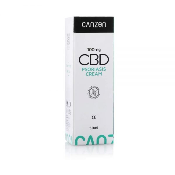 Caja de embalaje de la crema de CBD para psoríasis de Canzon