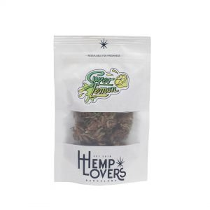 Super Lemon hemp flower CBD