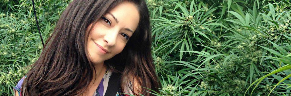 Cannabis Woman