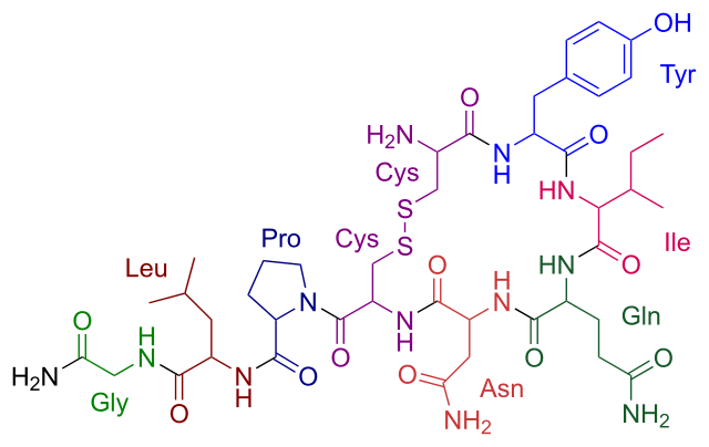fórmula oxitocina