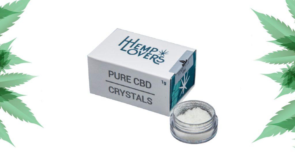 cristais de CDB