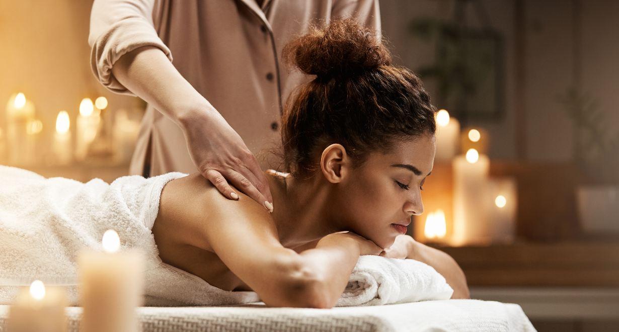 masajes relajantes con CBD
